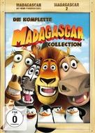 Madagascar - German DVD movie cover (xs thumbnail)