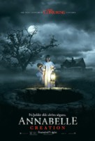 Annabelle: Creation - Icelandic Movie Poster (xs thumbnail)