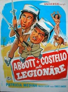 Abbott and Costello in the Foreign Legion - German Movie Poster (xs thumbnail)