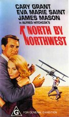 North by Northwest - Australian VHS cover (xs thumbnail)