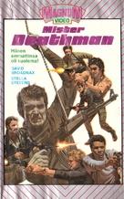 Mister Deathman - Finnish VHS movie cover (xs thumbnail)
