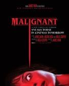 Malignant - British Movie Poster (xs thumbnail)
