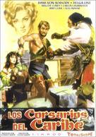 Il conquistatore di Maracaibo - Spanish Movie Poster (xs thumbnail)