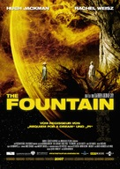 The Fountain - German Movie Poster (xs thumbnail)