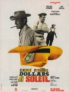Cent mille dollars au soleil - French Movie Poster (xs thumbnail)