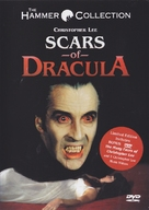 Scars of Dracula - DVD cover (xs thumbnail)