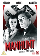 Man Hunt - British DVD cover (xs thumbnail)