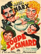 Duck Soup - French Movie Poster (xs thumbnail)