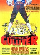 The 3 Worlds of Gulliver - French Movie Poster (xs thumbnail)