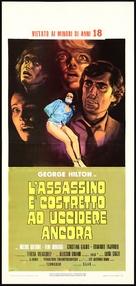 L'assassino è costretto ad uccidere ancora - Italian Movie Poster (xs thumbnail)