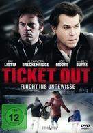 Ticket Out - German DVD cover (xs thumbnail)