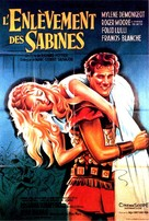 Ratto delle sabine, Il - French Movie Poster (xs thumbnail)