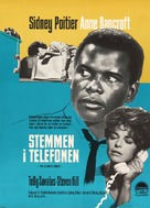The Slender Thread - Danish Movie Poster (xs thumbnail)