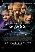 Glass - Romanian Movie Poster (xs thumbnail)