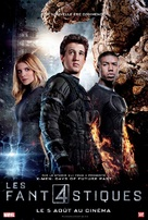 Fantastic Four - French Movie Poster (xs thumbnail)