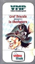 Graf Dracula beißt jetzt in Oberbayern - German Movie Cover (xs thumbnail)