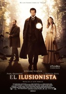 The Illusionist - Spanish Movie Poster (xs thumbnail)