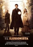 The Illusionist - Spanish Movie Poster (xs thumbnail)