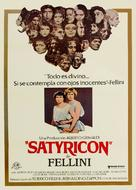 Fellini - Satyricon - Spanish Movie Poster (xs thumbnail)