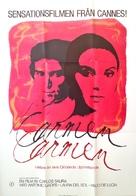 Carmen - Swedish Movie Poster (xs thumbnail)