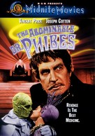 The Abominable Dr. Phibes - DVD cover (xs thumbnail)