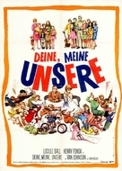 Yours, Mine and Ours - German Movie Poster (xs thumbnail)
