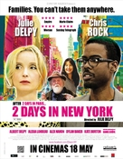 2 Days in New York - British Movie Poster (xs thumbnail)
