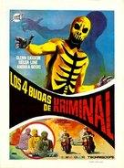 Il marchio di Kriminal - Spanish Movie Poster (xs thumbnail)