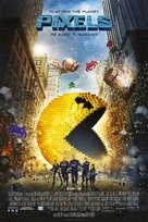 Pixels - Norwegian Movie Poster (xs thumbnail)