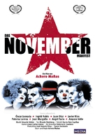 Noviembre - German Movie Poster (xs thumbnail)