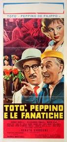 Totò, Peppino e le fanatiche - Italian Movie Poster (xs thumbnail)