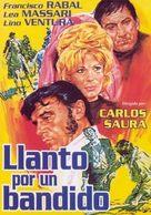 Llanto por un bandido - Spanish Movie Poster (xs thumbnail)