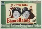 White Christmas - Italian Movie Poster (xs thumbnail)