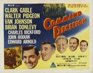 Command Decision - Australian Movie Poster (xs thumbnail)