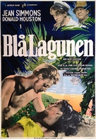 The Blue Lagoon - Swedish Movie Poster (xs thumbnail)