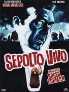 Premature Burial - Italian DVD movie cover (xs thumbnail)