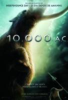 10,000 BC - Brazilian Movie Poster (xs thumbnail)