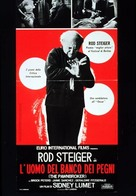 The Pawnbroker - Italian Movie Poster (xs thumbnail)