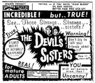 The Devil's Sisters - poster (xs thumbnail)