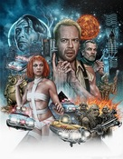 The Fifth Element - British Movie Cover (xs thumbnail)