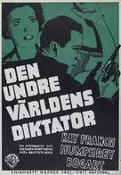 King of the Underworld - Swedish Movie Poster (xs thumbnail)