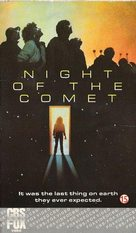 Night of the Comet - British VHS cover (xs thumbnail)