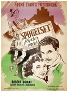 The Ghost Goes West - Danish Movie Poster (xs thumbnail)