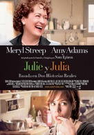 Julie & Julia - Spanish Movie Poster (xs thumbnail)