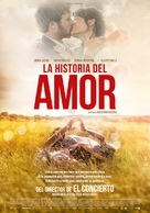 The History of Love - Spanish Movie Poster (xs thumbnail)