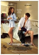 No Strings Attached - New Zealand Movie Poster (xs thumbnail)