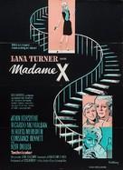 Madame X - Danish Movie Poster (xs thumbnail)