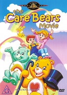 The Care Bears Movie - Australian DVD cover (xs thumbnail)