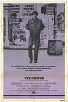 Taxi Driver - Spanish Movie Poster (xs thumbnail)