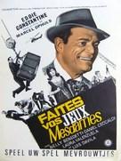 Faites vos jeux, mesdames - Belgian Movie Poster (xs thumbnail)